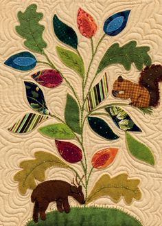 My Enchanted Garden: Applique Quilts in Cotton and Wool by Gretchen Gibbons