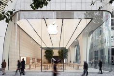 Apple store by Foster & Partners, Brussels – Belgium » Retail Design Blog