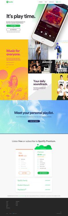 homepage spotify 2015