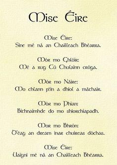 Irish Gaelic Language, Irish Mythology, Scottish Gaelic, Irish Eyes Are Smiling, Irish Roots, St Pattys, Storyboard, Beautiful Words, Scotland