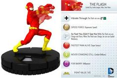 The Flash #010 DC 10th Anniversary Heroclix Singles - DC Heroclix 10th Anniversary - HeroClix - Miniatures