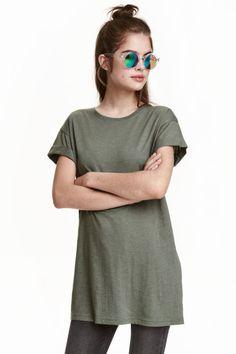 Długi T-shirt