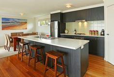 Gorgeous family beach house available for holiday rental in Jan Juc Victoria - right on the door step of the beautiful Bells Beach. Sleeps 8!  #holiday #BellsBeach #JanJuc #Surf #Sand #Sun #Beach #family #winterescape #travel #relax #getaway by surfcoastholiday http://ift.tt/1X8VXis