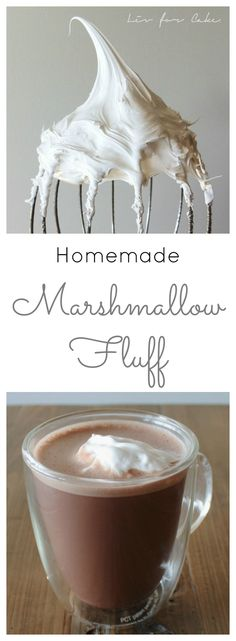 Homemade Marshmallow Fluff you'll be eating out of a bowl with a spoon. | livforcake.com