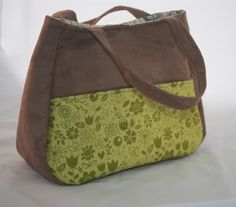 Ethel, another bag designed by Swoon Patterns and made by Gower Bags