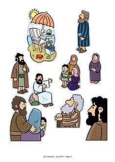 My Little House: Jesus' life