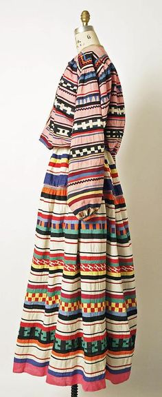 Seminole quilt dress, 1800-1945. Met Collection.
