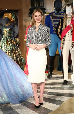 Cinderella Actress Lily James Is a Red Carpet Star Photos   W Magazine