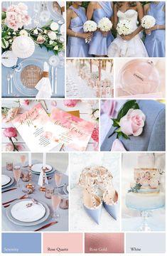 Wedding Online - Planning - 2018 colourscheme inspiration for your wedding, whatever the season!