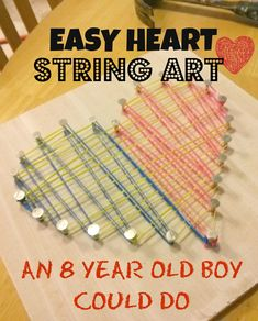 What a fun idea for an easy, cheap valentines craft!