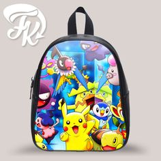 COLOR CHOICE : Black, Blue, Red, White This high-quality kid's school bag is the…
