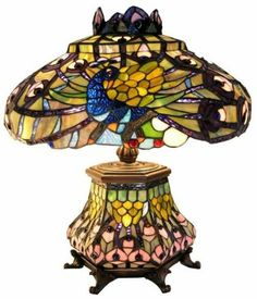 Large tiffany style urn leaded stained glass table lamp 40cm b71 large tiffany style urn leaded stained glass table lamp 40cm b71 ebay finds pinterest glass table lamps tiffany and glass aloadofball Gallery