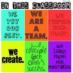 Great classroom poster