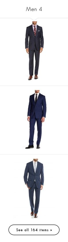 """""""Men 4"""" by katherine97-1 ❤ liked on Polyvore featuring men's fashion, men's clothing, men's suits, navy, mens wool suits, old navy mens clothing, mens suits, mens navy suit, men's apparel and merino wool mens clothing"""