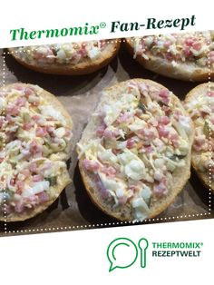 Überbackene Häppchen von The Mama Betty. Ein Thermomix ® Rezept aus der Kategorie Backen herzhaft auf www.rezeptwelt.de, der Thermomix ® Community.