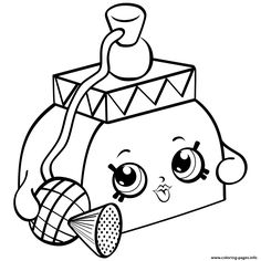 Print Perfume Shopkins Season 4 Coloring Pages