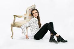 Camisa Élégant   Estampa Fleur   Saas Store   Inverno/15