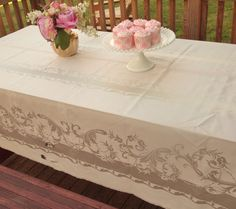 170 best vintage linens and such images vintage linen bed linen rh pinterest com