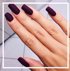 A dark maroon