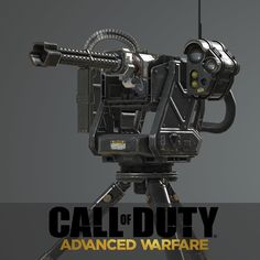 Advanced Warfare: Remote Turret, Ethan Hiley on ArtStation at https://www.artstation.com/artwork/advanced-warfare-remote-turret