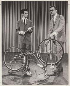 Frank Zappa - 1963 Photo of Zappa Playing Bicycle - Recordmecca