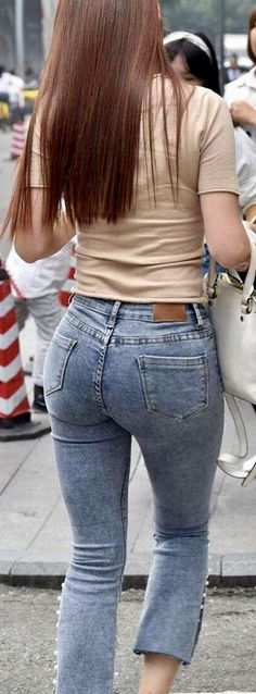 How to Rip Jeans Without Ruining Them? Superenge Jeans, Cute Jeans, Ripped Jeans, Skinny Jeans, Sweet Jeans, Chica Cool, Perfect Jeans, Girls Jeans, Jeans Style