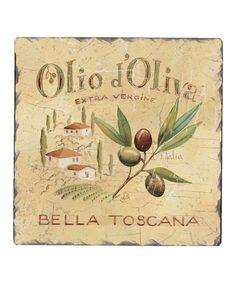 Olive Label Trivet #zulily #zulilyfinds