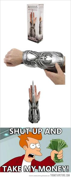 Shut up and take my money - Assassin's Creed #ubisoft #gaming #videogames