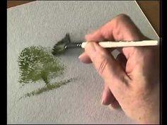 Terry Harrison's Pro Arte Masterstroke Brushes - The Stipple Fan - YouTube