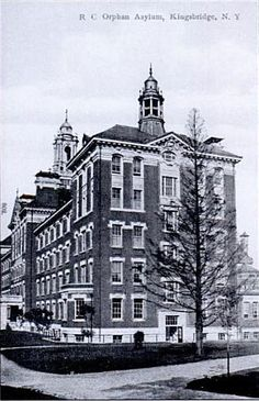 Roman Catholic Orphan Asylum.  301 West Kingsbridge Road at Sedgwick Avenue The Bronx, N.Y.