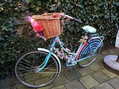 colorful bike decorating ideas