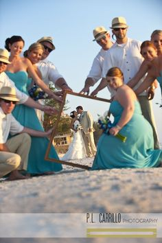 Fun beach photos Www.abeautifulfloridawedding.com