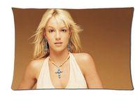 Custom Britney spears, Cross, Earrings 50x75cm Soft pillow cover good quality pillowslips pillow cases bedding