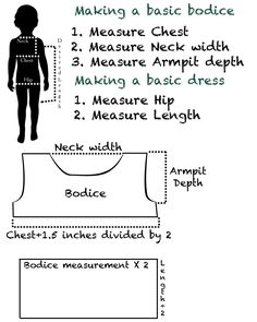 make a bodice pattern