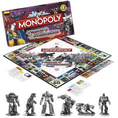 Transformers Monopoly---THEY NEED A BUMBLEBEE PIECE....maybe I can make one myself...