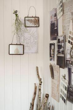 Dekoidee Wanddeko Deko Wandverkleidung DIY Aus Holz Moodboard  Inspirationswand Kreidefarbe Farbe Von Painting The Past Vertaefelung