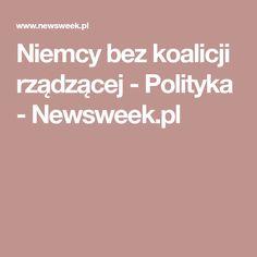 Niemcy bez koalicji rządzącej - Polityka - Newsweek.pl