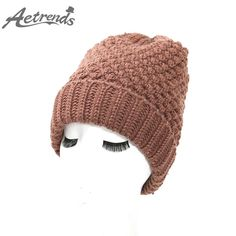 Ladies Beanies Warm with Plus Thick Velvet Inside Winter Bonnet Knitted Cap $11.38 => Save up to 60% and Free Shipping => Order Now! #fashion #woman #shop #diy www.scarfonline.n...