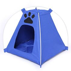 Dog Cat House Pet Waterproof Tent With Footprint House Kennel -- Tried it! Love it! Click the image. : Cat condo