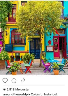 mexican house colors Balat-Estambul How To Buy A Good Sofa Your sofa seats your guests when you do s Colors Of The World, Turkey Photos, Colourful Buildings, Colorful Houses, Bohemian Decor, Belle Photo, House Colors, Beautiful Places, Exterior