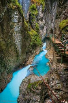 Leutasch Gorge, Bavaria, Germany