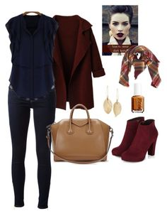 """Untitled #57"" by marlynalexandria ❤ liked on Polyvore featuring MICHAEL Michael Kors, Givenchy, Essie and Lulu*s"