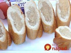 Namiesto obyčajných obložených chlebíkov: 9 tipov na rýchle pohostenie z pečiva, ktoré chutí výborne! Bape, Bread, Food, Brot, Essen, Baking, Meals, Breads, Buns