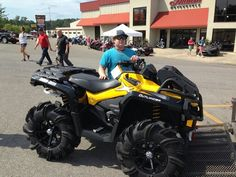 Thanks to Dylan Breland from Vancleave MS for getting a 2015 CanAm Outlander Xmr 800 at Hattiesburg Cycles