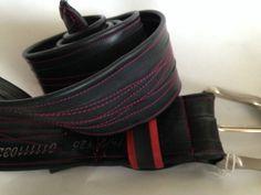Inner tube belt skinny or wide recycled bike by VeloCulture, £20.00