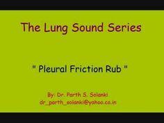 Breath Sounds - Pleural Friction Rub