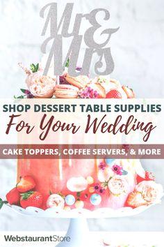 Go shopping Cake Toppers, Cake Holders, Coffee Cups, & Considerably Diy Wedding On A Budget, Wedding Planning Tips, Event Planning, Wedding Ideas, Wedding Table, Wedding Reception, Rustic Wedding, Our Wedding, Wedding Desserts