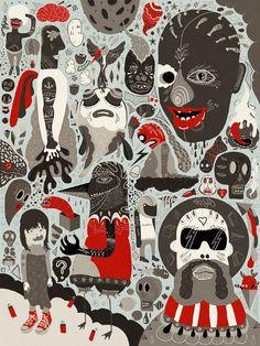 Digital Illustration Art by Mathis Rekowski | -::[robot:mafia]::- .ılılı. electronic beats ★ visual art .ılılı.