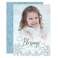 Let It Snow Blessings w/white envelopes included