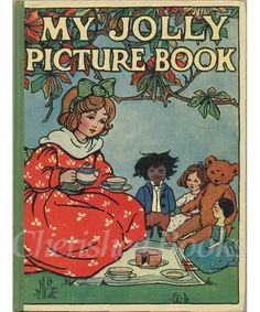 OLD VINTAGE CHILDRENS PICTURE BOOK C1920